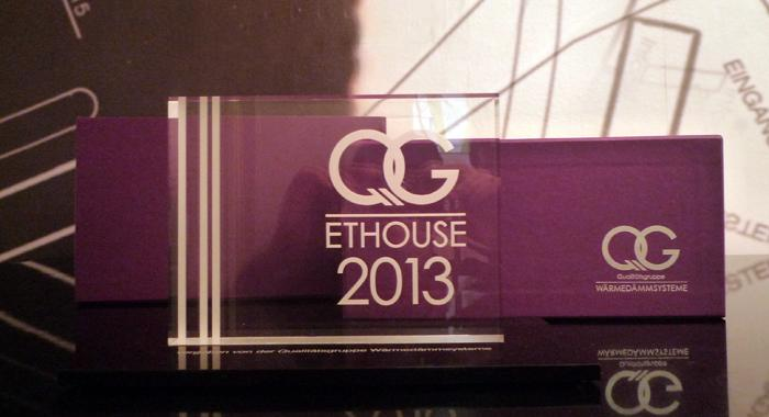 ETHOUSE AWARD 2013